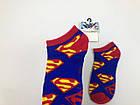 Носки Marvel DC pattern - Низкие - Синие - Супермен, фото 2