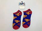 Носки Marvel DC pattern - Низкие - Синие - Супермен, фото 3