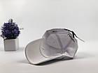 Кепка бейсболка Lacoste кожаный ремешок (белая), фото 6