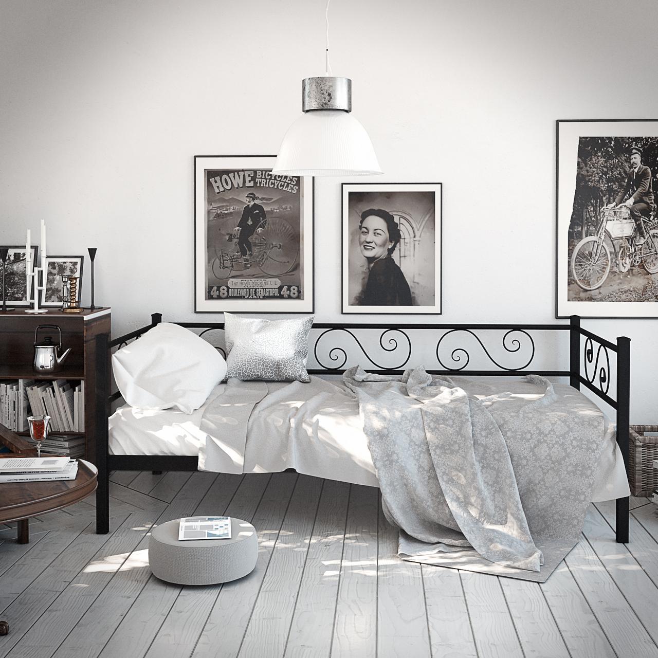 Диван-ліжко кований Амарант