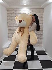 Большой мягкий Медведь - Молочный - 2 метра (200 см)