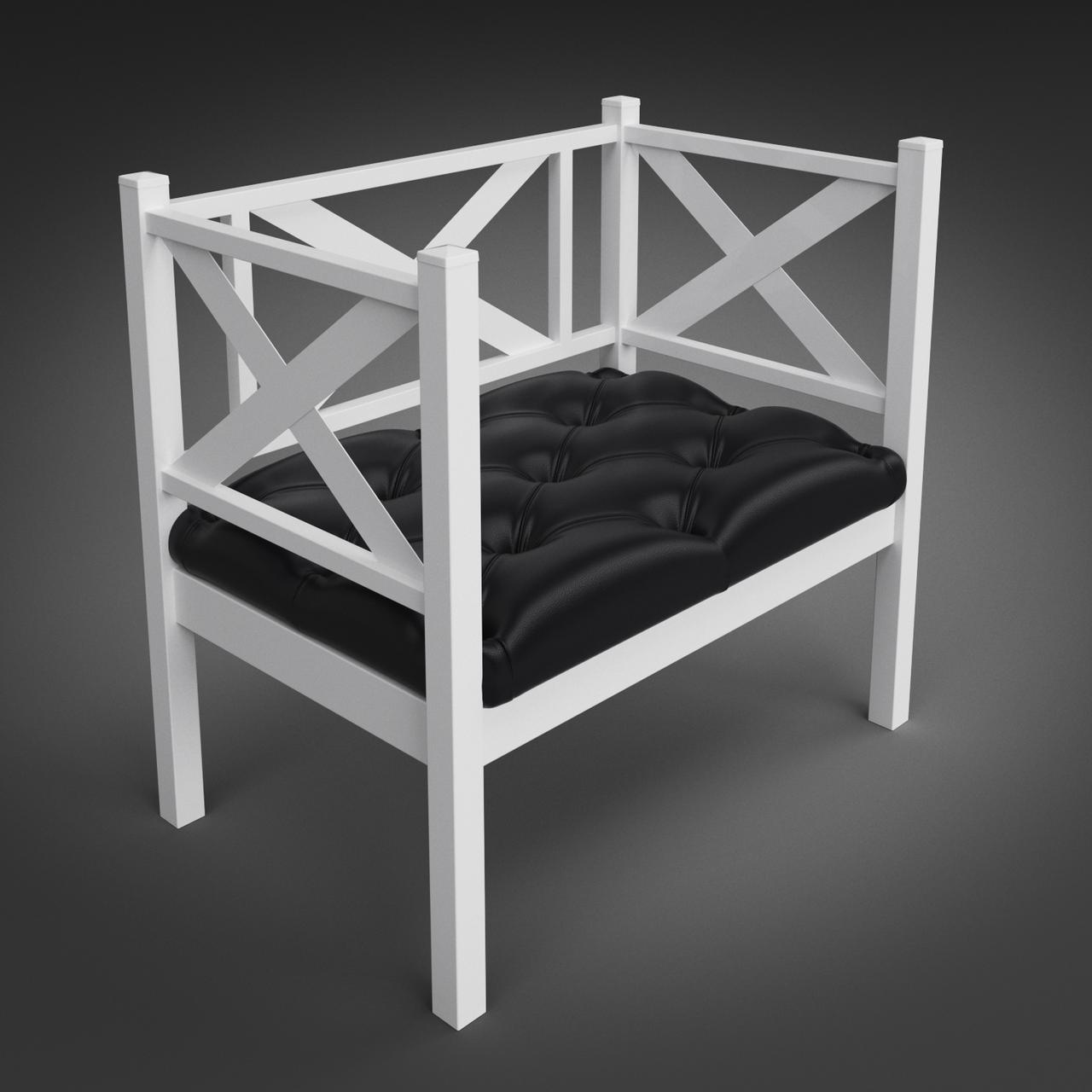Кресло кованое Грин Трик Лофт