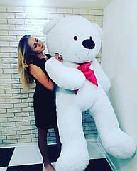 Большой мягкий Медведь - Белый - 2 метра (200 см)