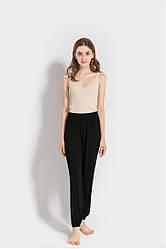 Брюки домашние женские Fly, черный Berni Fashion (One Size)