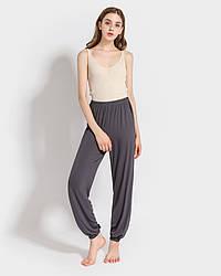 Брюки домашние женские Fly, серый Berni Fashion (One Size)