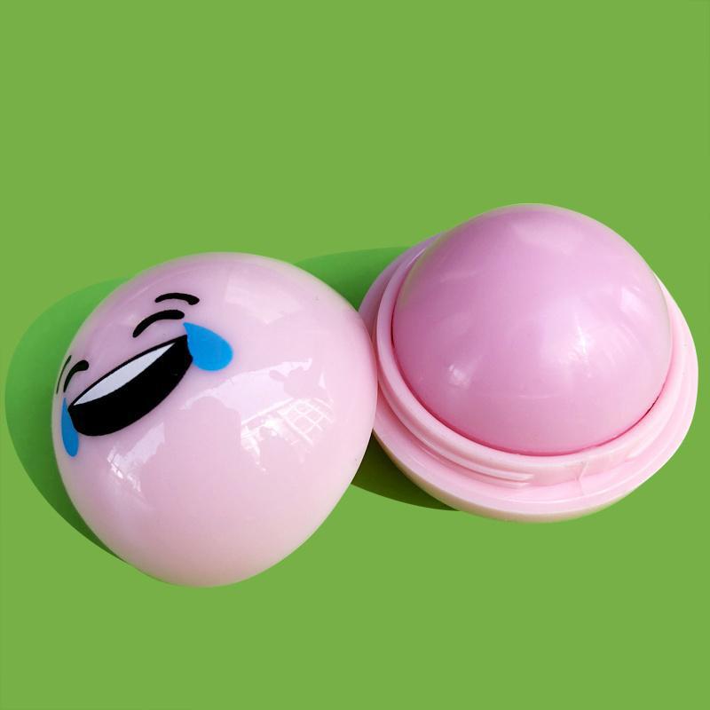 Ароматизированный бальзам для губ EOS ЕОС Smile Смайл Розовый 20 г