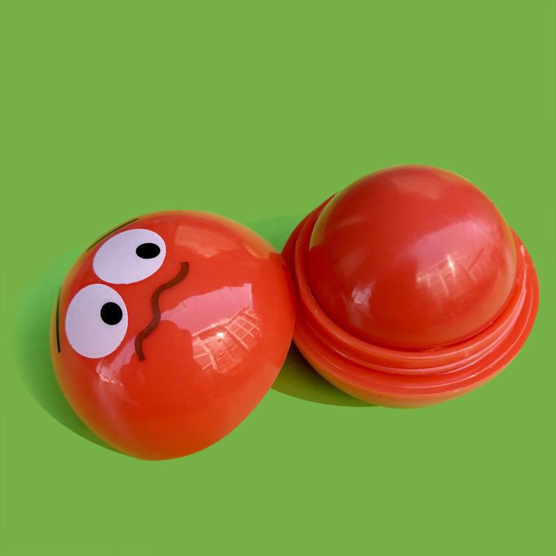 Ароматизированный бальзам для губ EOS ЕОС Smile Смайл Красный 20 г