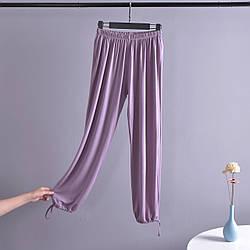 Брюки домашние женские Comfort, фиолетовый Berni Fashion (M)