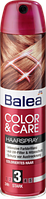 BALEA Лак для волос Haarspray Color&care для окрашенных волос с уф-фильтром для защиты цвета 300 мл