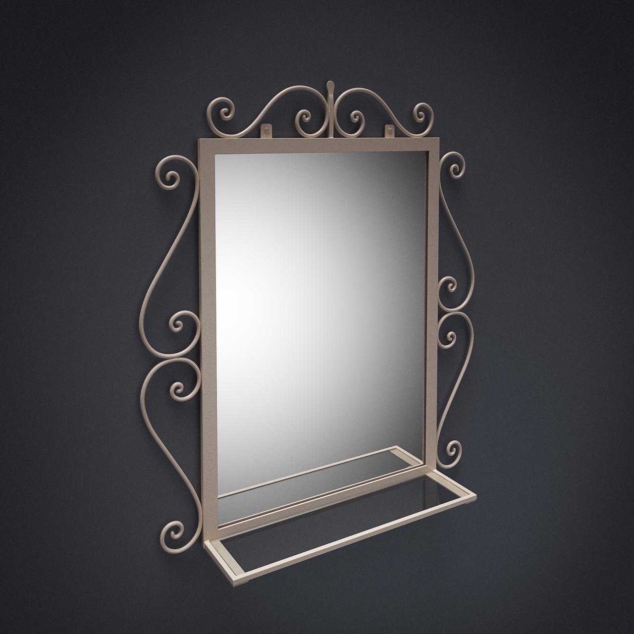 Коване дзеркало Амбер