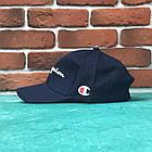 Кепка бейсболка Champion с биркам Темно-Синяя, фото 2