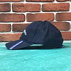 Кепка бейсболка Champion козырек Темно-синяя, фото 3