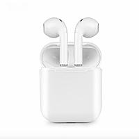 Беспроводные Bluetooth наушники iFans в Кейсе c Power Bank White