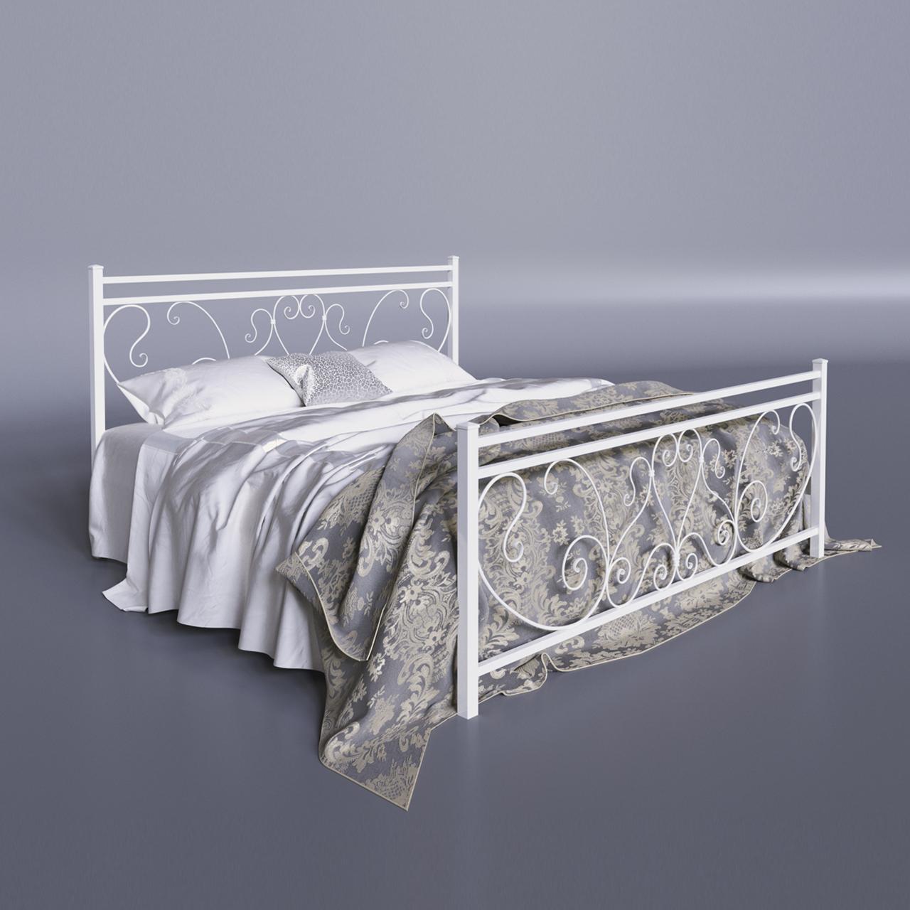 Ліжко металеве двоспальне Монстера