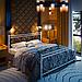 Ліжко металеве двоспальне Монстера, фото 2