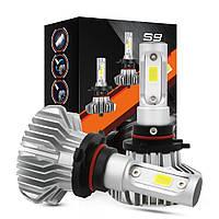 Светодиодные LED автолампы для фар автомобиля S9 H4