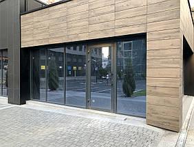 Фасадное остекление зданий алюминиевой системой ТЕКНО 50 Алюмаш, фото 2