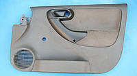 Карта - отделка двери передней правой, цвет серый, для Опель Комбо / Opel Combo 2005 пассажирский