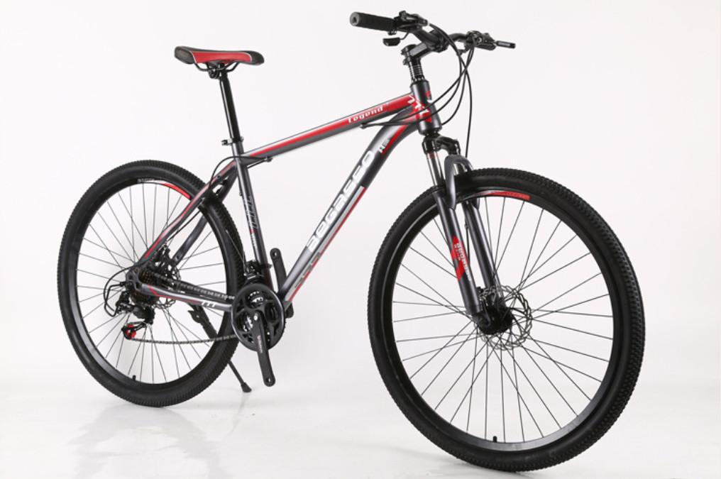 """Велосипед горный найнер 29"""" BeGasso Legend рама 19"""" Черно Красный на рост 170-185 см"""