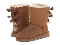 Женские угги UGG Bailey Bow Boots Navy Brown