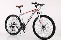 """Велосипед горный найнер 29"""" BeGasso Legend рама 19"""" Бело-Красный на рост 170-185 см"""