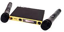 Радіосистема SH-588D, база, 2 мікрофона