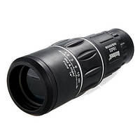 Оптический монокль Bushnell 16x52 монокуляр с чехлом и шнурком диаметр объектива 52мм