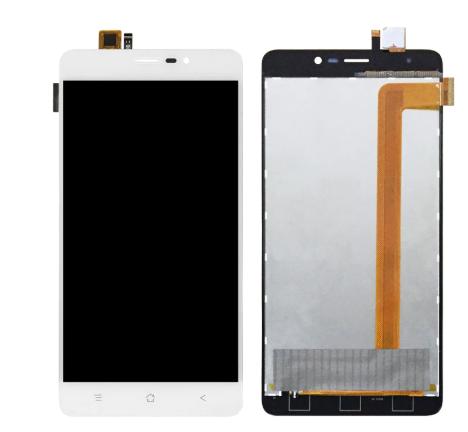 Дисплей (екран) для Blackvew A8 Max з сенсором (тачскріном) білий Оригінал