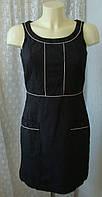 Платье женское офис хлопок мини бренд Next р.42 3705а