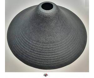 """RSE Дифузор 18"""" діаметр 370мм,, висота для горла 76/100мм, (глибокий), 10 хвиль від верху дифузора"""