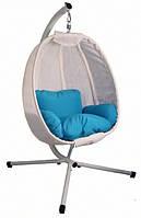 Подвесное кресло кокон 125x95x170 см (до 180 кг) с подушками Stenson MH-2745
