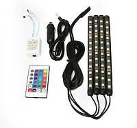 LED подсветка для авто AMBIENT с пультом HR-01678