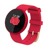 Умные часы фитнес браслет для женщин Lemfo B36 Красный (ftlemb36red)