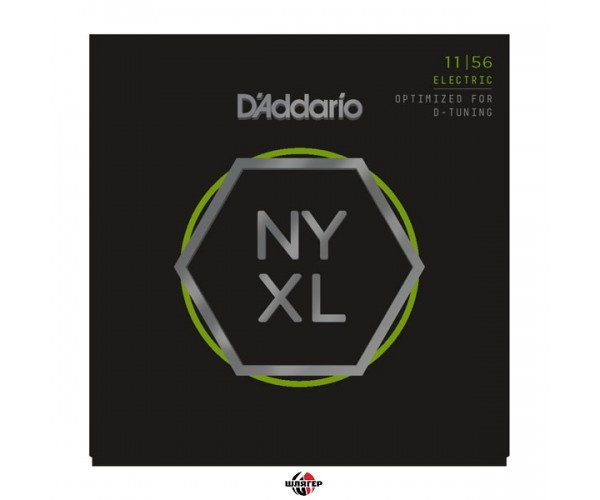 D`ADDARIO NYXL1156 Medium Top / Extra heavy bottom Струны для электрогитары