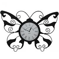 Часы настенные Бабочка метал. (56*6*38,5 см)