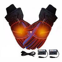 Зимние перчатки с подогревом Luckstone Warmspace HE329 L Синие (100168)