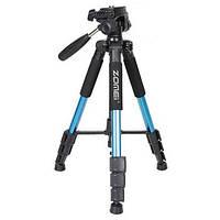 Штатив для фотоаппарата или камеры Zomei Q111 Синий (100080)