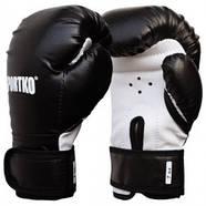 Боксерские перчатки SPORTKO, кожвинил (спортткань), вес - 7 унций (синие, красные, черные), фото 2