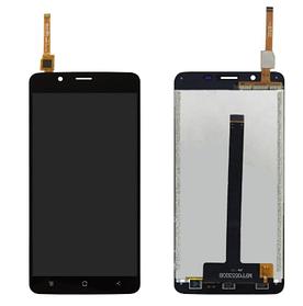 Дисплей (екран) для Blackview P2 з сенсором (тачскріном) черный Оригінал