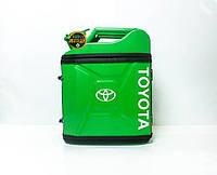 Канистра бар 20л с маркой авто Тойота / Toyota Оригинальный подарок