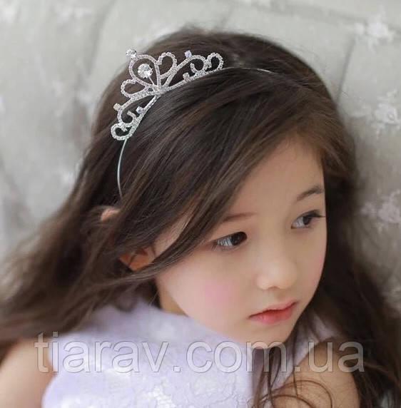 Корона детская диадема, обруч для волос, тиара