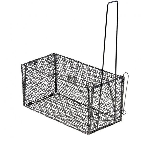 Крысоловка-клетка металлическая Маленькая 11*11*21