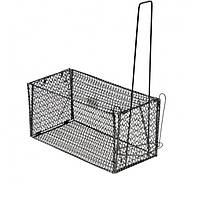 Крысоловка-клетка металлическая Маленькая 11*11*21, фото 1