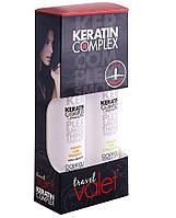 Набор для сухих и поврежденных волос с кератином, 89 + 89 мл