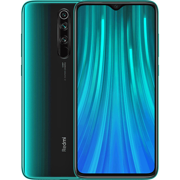 "Смартфон Xiaomi Redmi Note 8 Pro 6/64GB 6,53"" Forest Green"