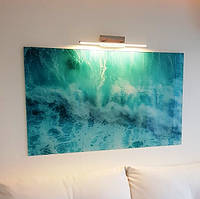 Стеклянная картина - Волна морская