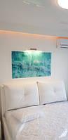 Панно из стекла с фотопечатью морских волн