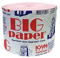 """Туалетний папір ТМ """"Волинь"""" BIG paper (36/6)"""