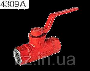 Кран разобщительный 4309 тормозных пневматических приборов