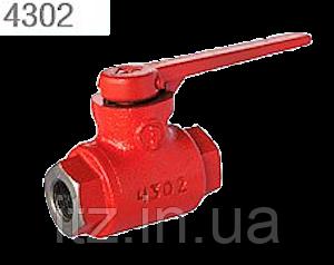 Кран разобщительный 4302 тормозных пневматических приборов